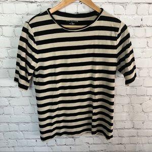 ANN TAYLOR Striped Tee Shirt Size XL